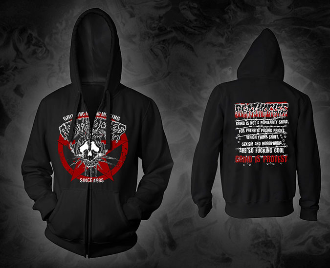AGATHOCLES - mincecore since 1985 (Hooded Zipper)