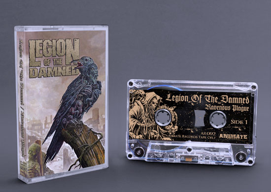 Legion of the Damned - ravenous plague (cassette tape)