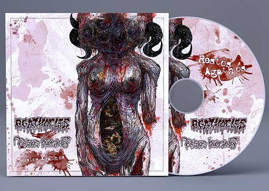"Agathocles / Restos Humanos ""Restos Agathos"" (Split-CD)"