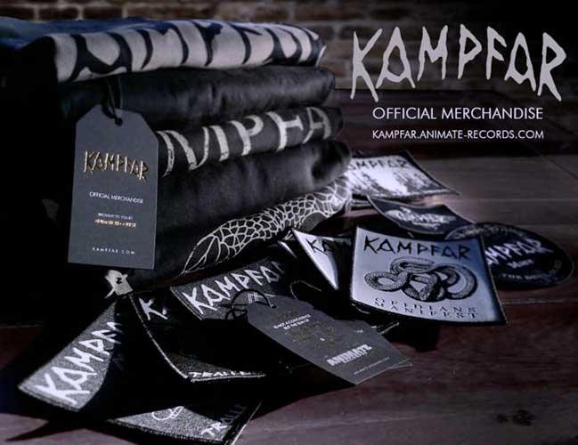 KAMPFAR merchandise webshop launched
