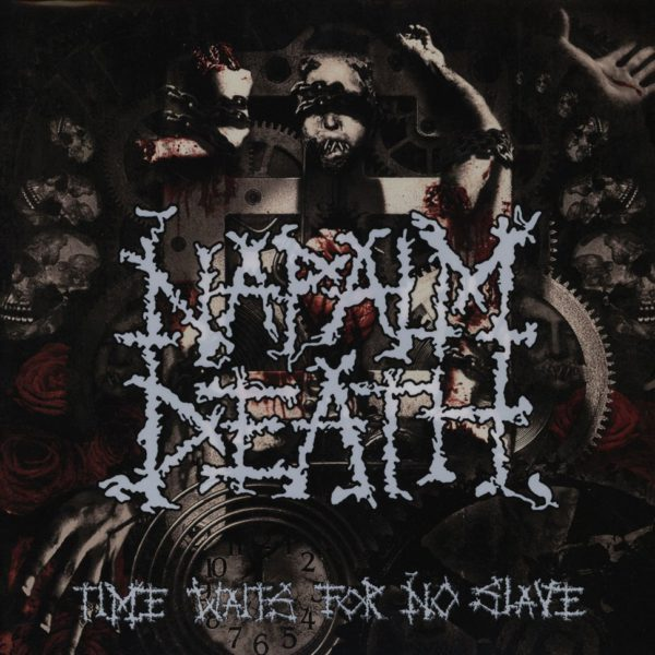 "NAPALM DEATH ""time waits for no slave Pic-LP"