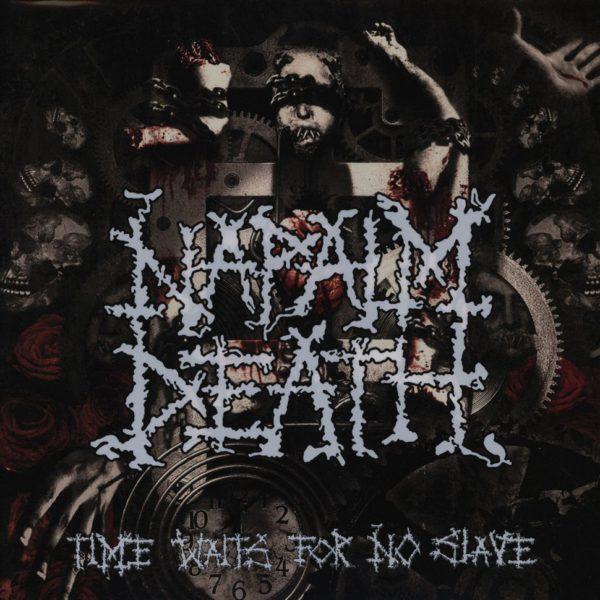 "NAPALM DEATH ""time waits for no slave Pic-LP"