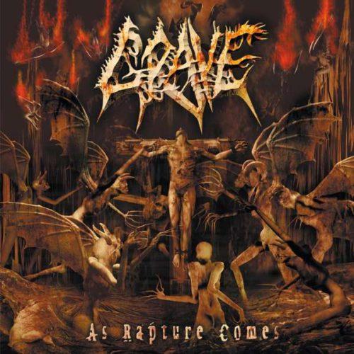 """GRAVE """"as rapture comes"""" (LP)"""