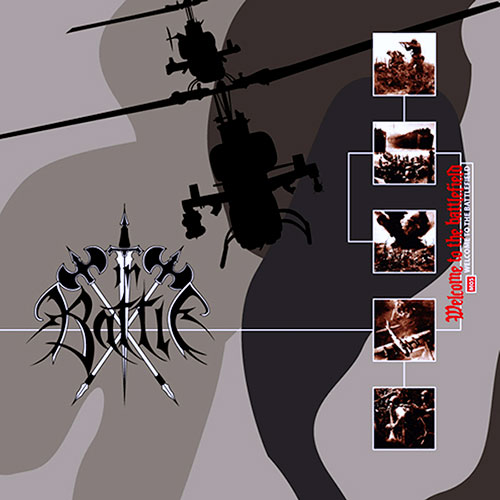 "IN BATTLE ""welcome to the battlefield"" (LP)"