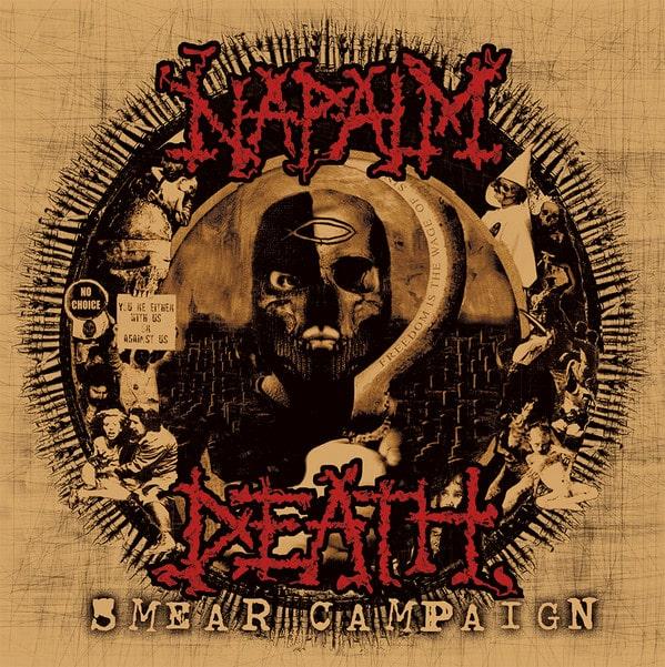 NAPALM DEATH - smear campaign Pic-LP
