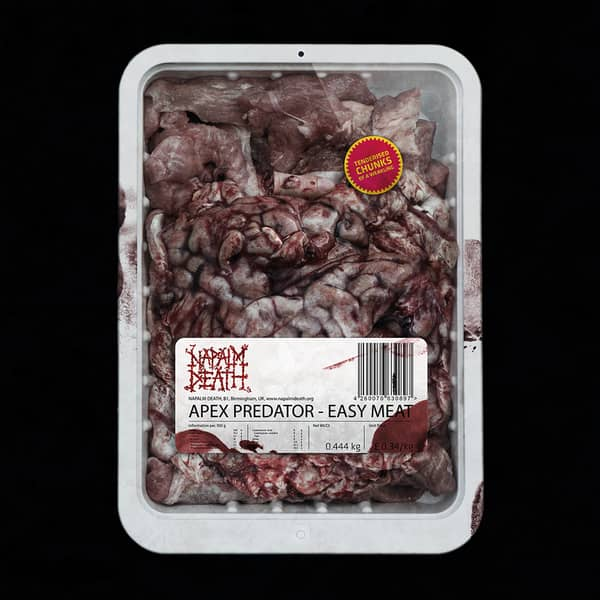 Napalm Death - Apex Predator Easy Meat LP