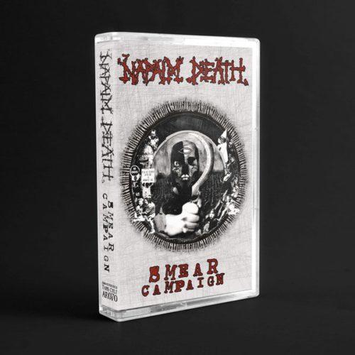 """Napalm Death """"smear campaign"""" (cassette tape)"""