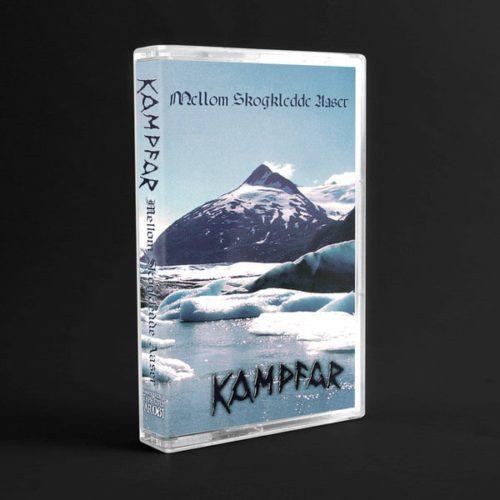 """Kampfar """"mellom skogkledde aaser"""" (cassette tape)"""