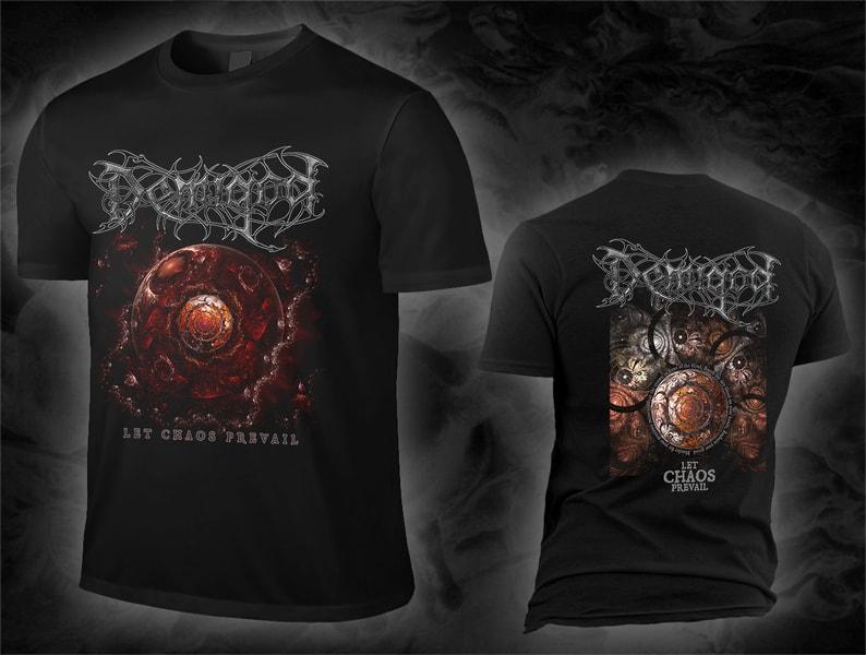 Demigod - let chaos prevail / album cover Shirt