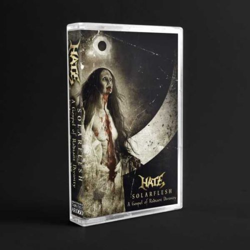 """Hate """"solarflesh: a gospel of radiant divinity"""" (cassette tape)"""