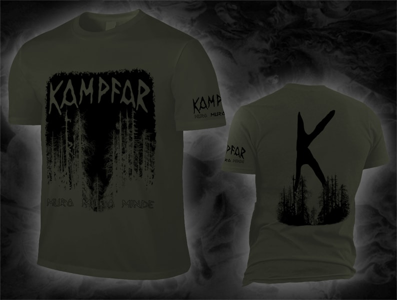 kampfar_muro_army_shirt