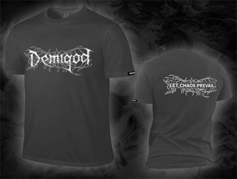 Demigod - let chaos prevail / logo Shirt