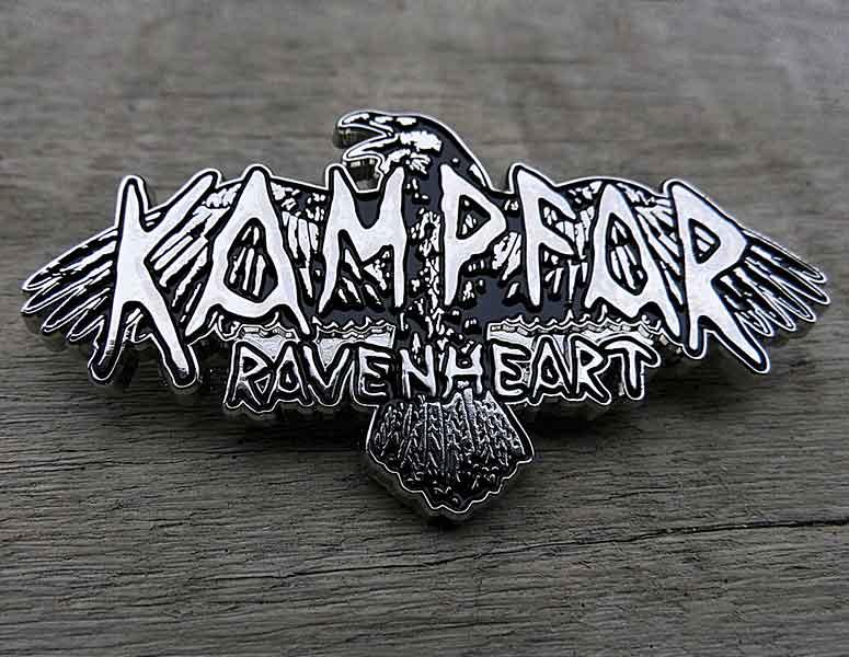 Kampfar---Ravenheart-metal-pin