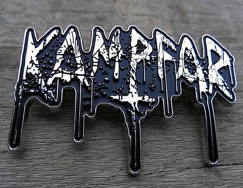 Kampfar-Splatter-Logo-metal-pin