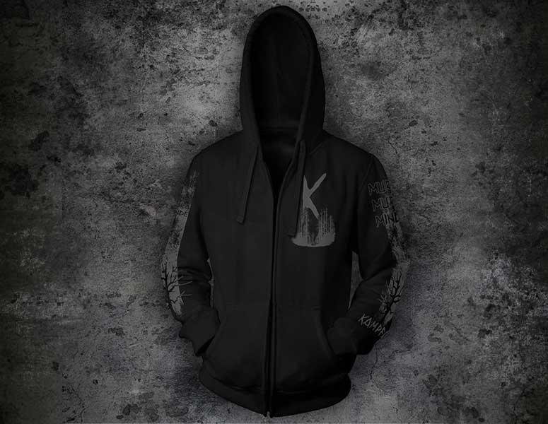 Kampfar---muro-muro-minde---hooded-zipper-jacket