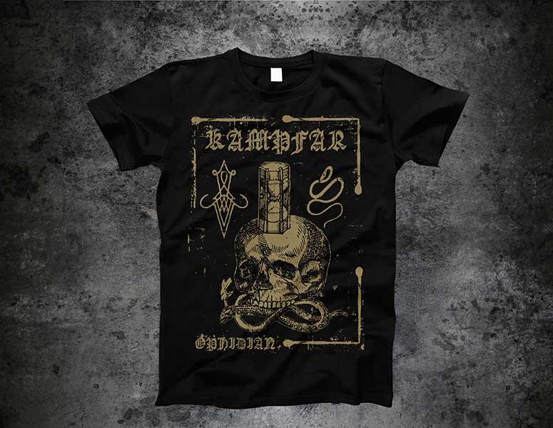 Kampfar_Ophidian_Shirt