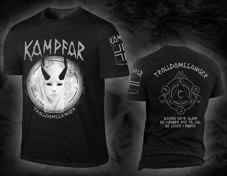 Kampfar_Trolldomssanger_Shirt_BLACK