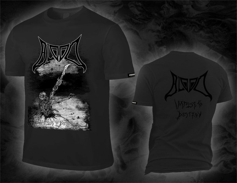 "BLOOD ""impulse to destroy"" shirt"