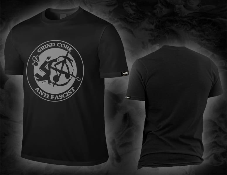 grindcore_antifascist_Shirt