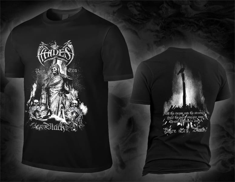 HADES ALMIGHTY pyre era, black black T-Shirt