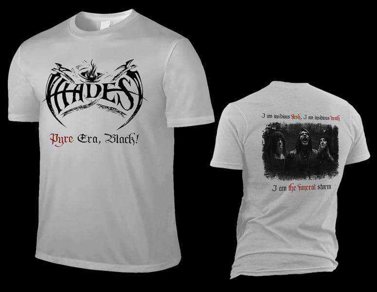 HADES ALMIGHTY pyre era, black silver grey T-Shirt