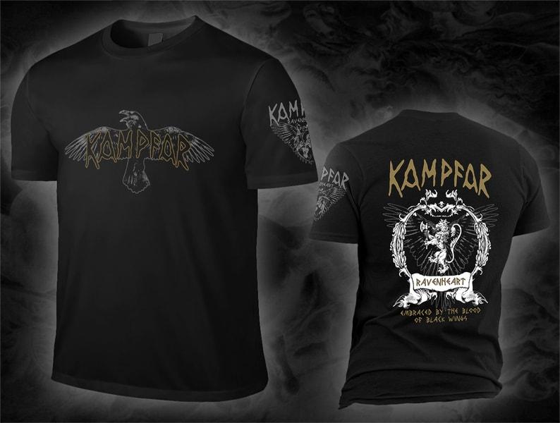 kampfar_ravenheart_black_Shirt