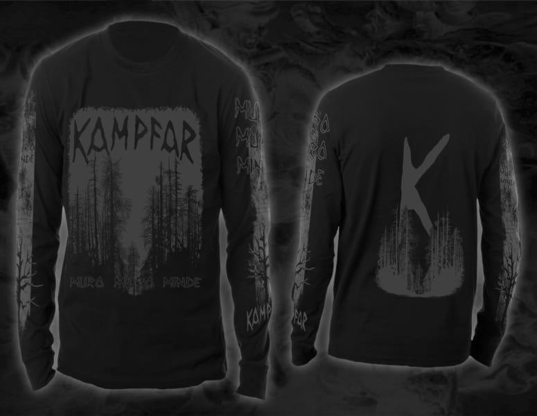 Kampfar - Muro Muro Minde (Longsleeve) | Official Kampfar Merchandise Webshop Webstore Onlineshop