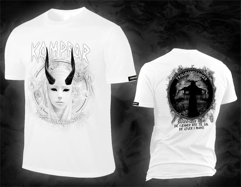 kampfar_trolldomssanger_white_shirt