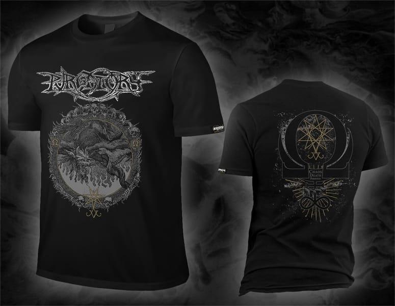 "PURGATORY ""chaos death perdition"" black T-Shirt"