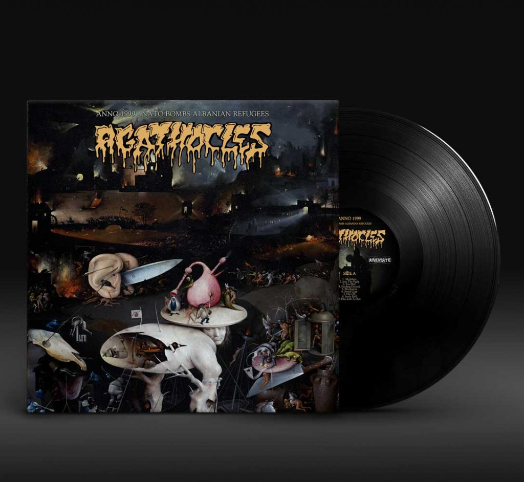 Agathocles_Anno-1999-Nato-bombs-Albanian-refugees_LP